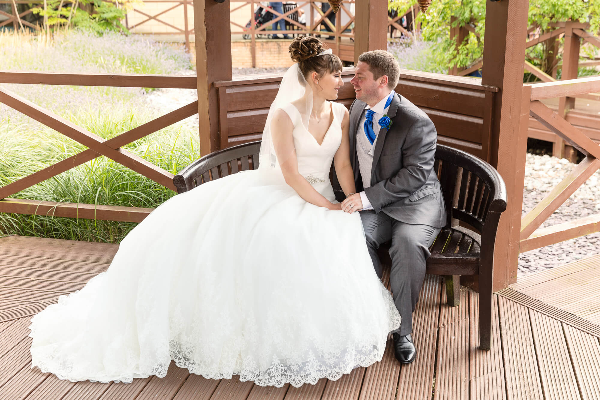 Bride and Groom portrait by Hampshire Photographers, moore&moore