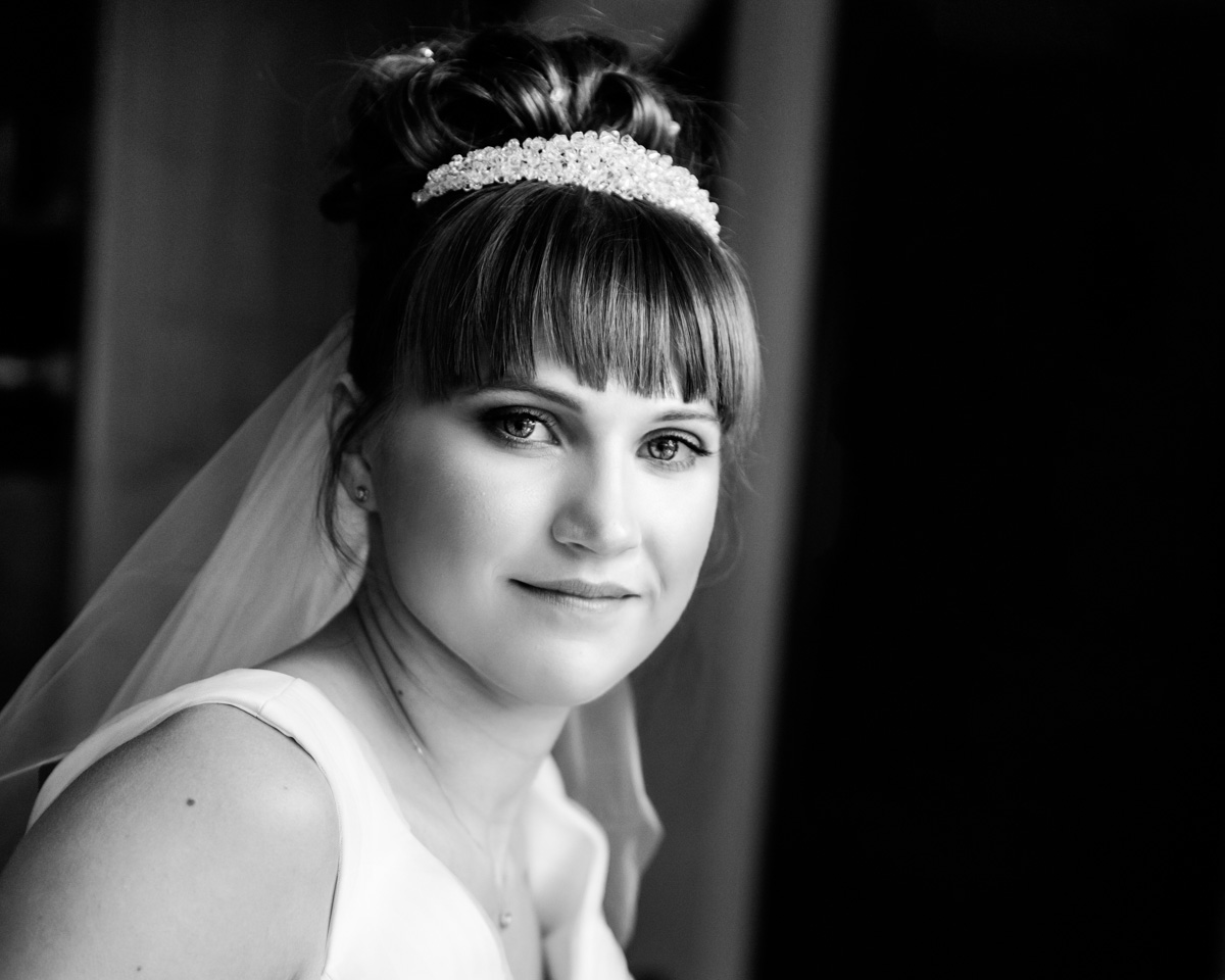 black and white wedding photography by Hampshire Photographers, Moore&Moore Photography