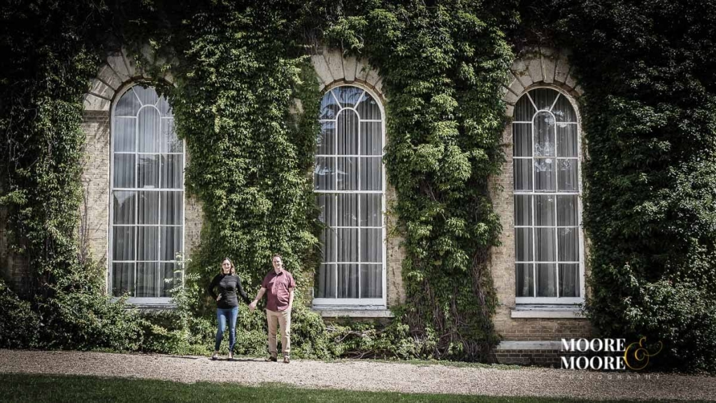 Engagement photography at Beaumont House, Windsor