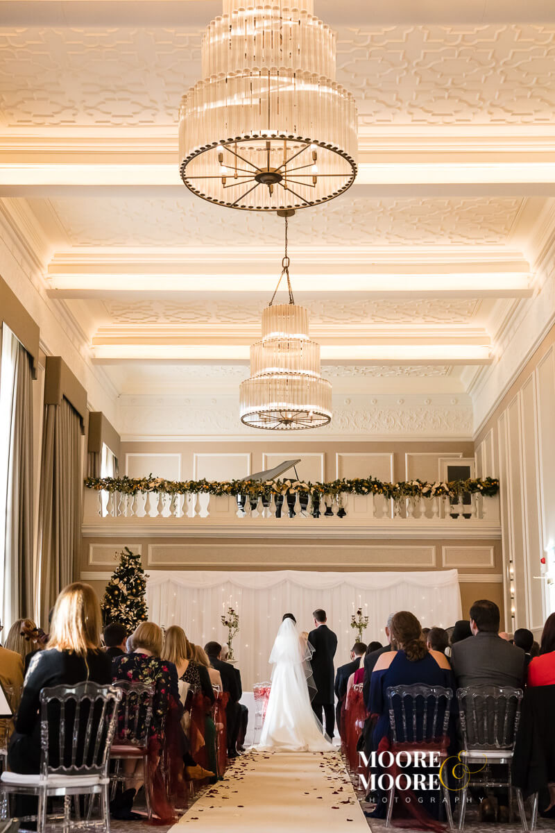 Wedding Ceremony Wedding Photography at Beaumont House, Windsor