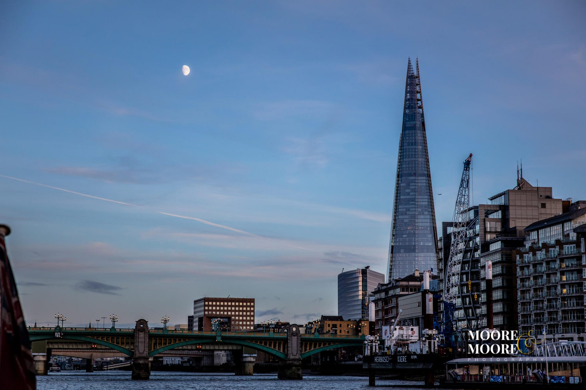 view of the shard, london, wedding photos by Moore&Moore Photography, Wedding Photographer Hampshire