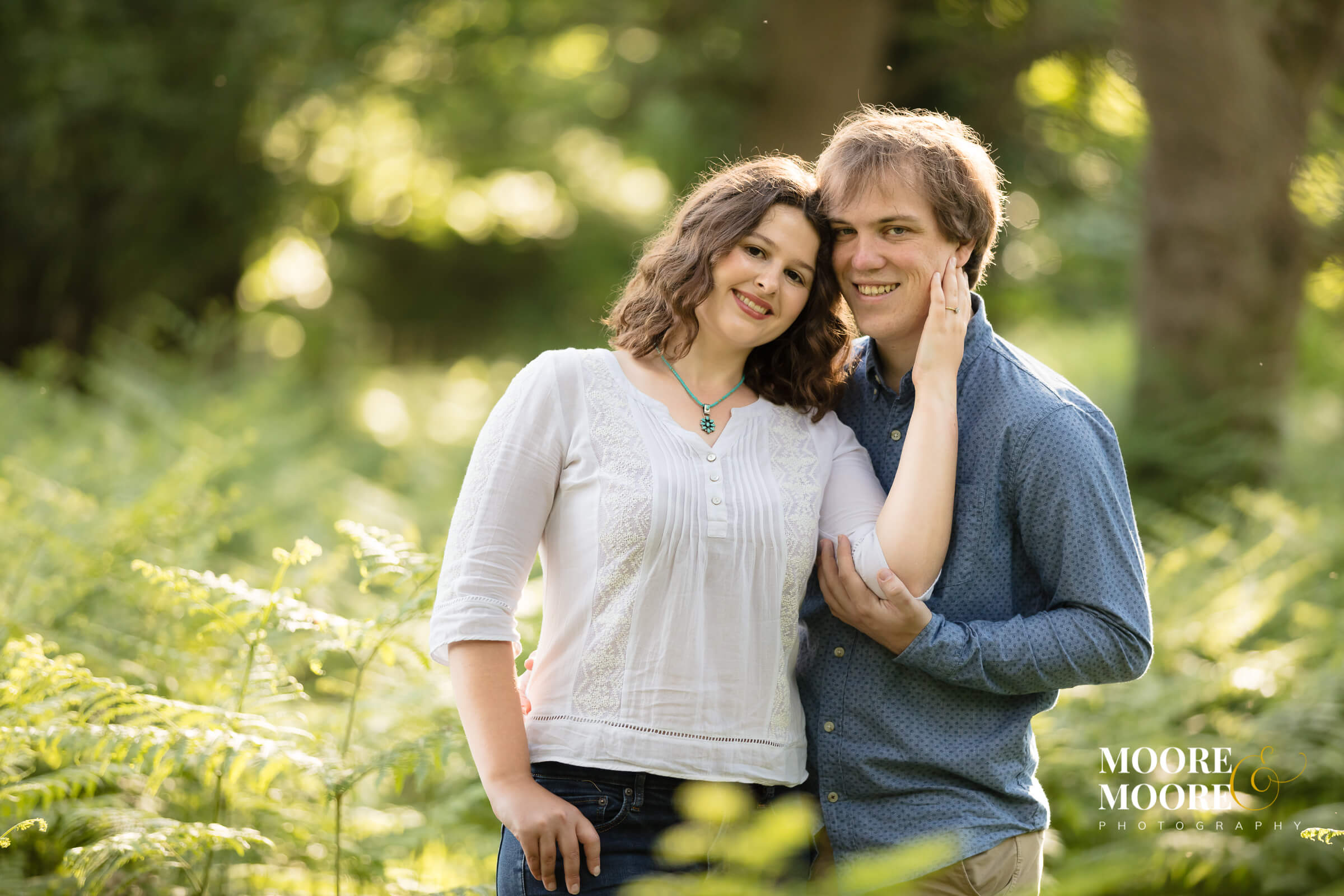 romantic sunset photo shoot - pre-wedding photography by moore&moore, Hampshire