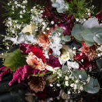 how to hold wedding bouquet. Wedding Photography by Moore & Moore Photography,