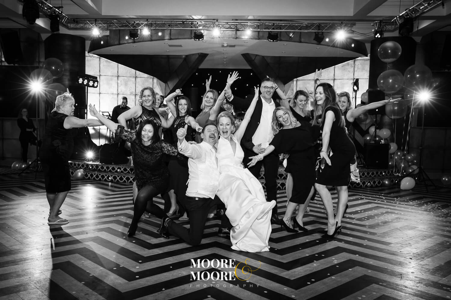 First Dance Flash mob wedding photography by Helen Moore of Moore & Moore Photography