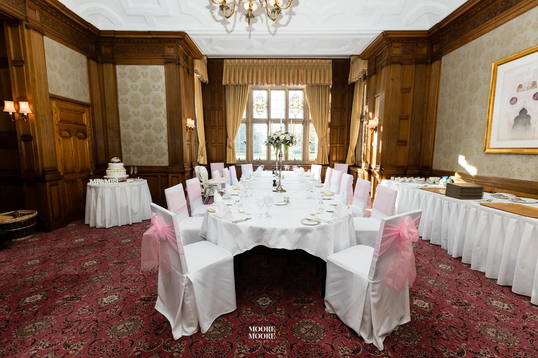 Wedding Reception. Tylney Hall Wedding Photography by Moore & Moore Photography, Wedding Photographer Hampshire