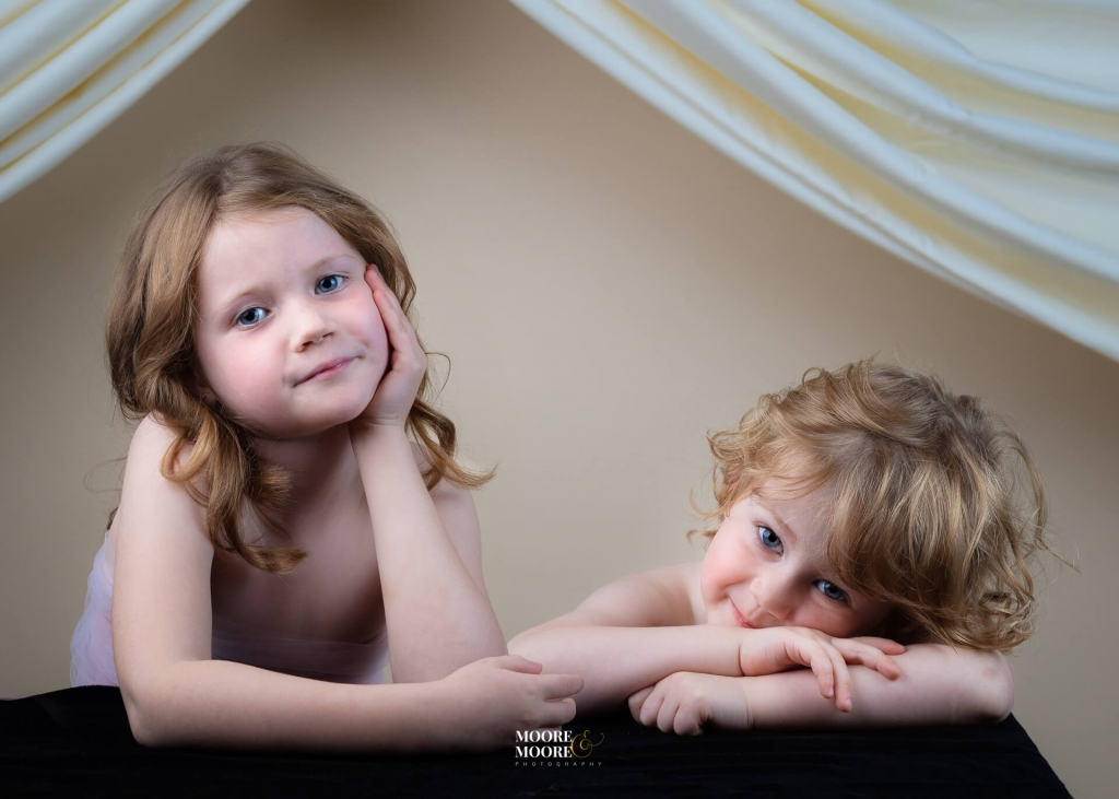 Child portrait photography by Moore & Moore Photography