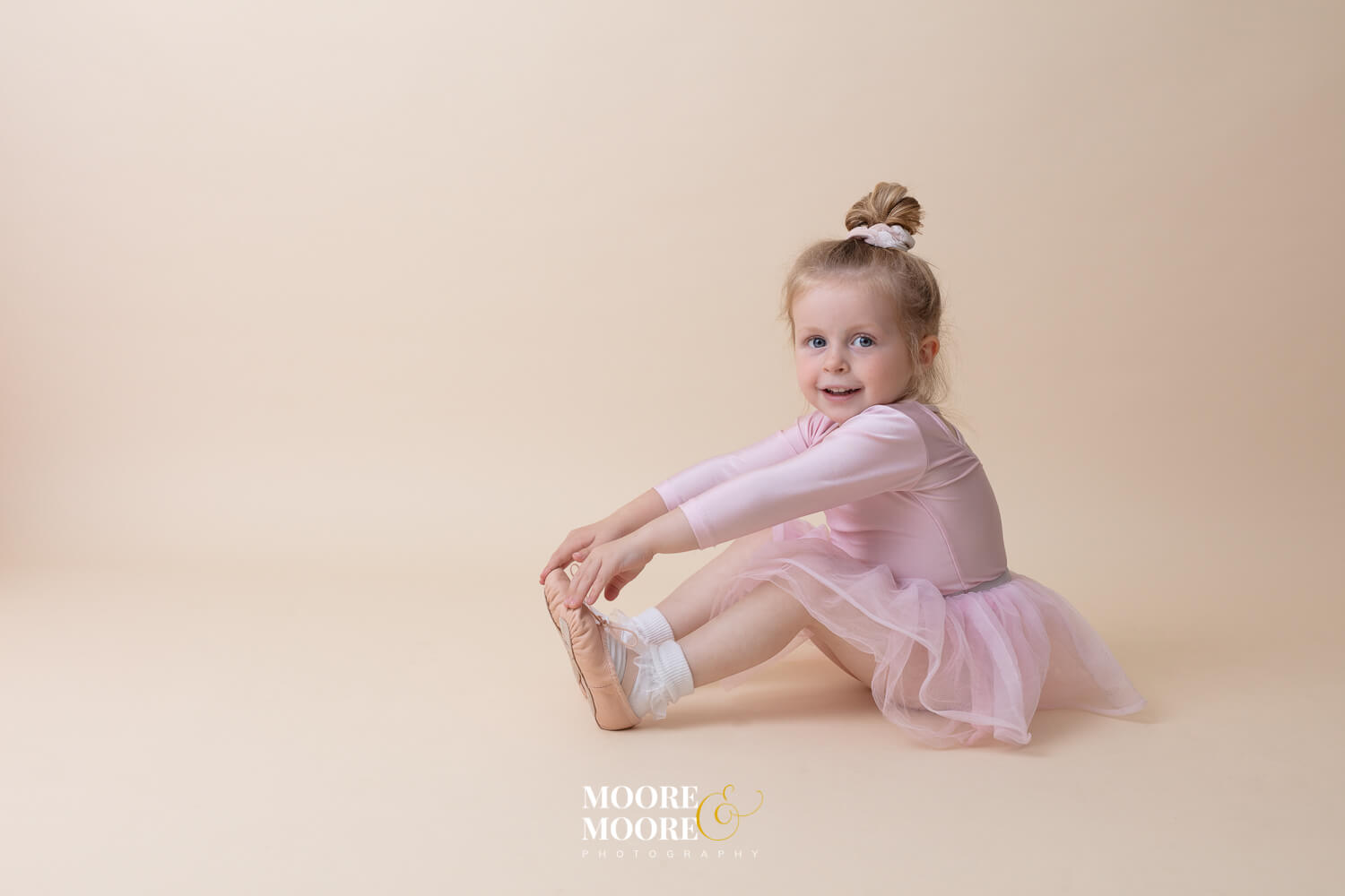 Baby ballet Dance Photography at Moore & Moore Photography