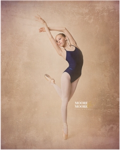 Dance Photography Ballet Photography portrait by Moore & Moore Photography
