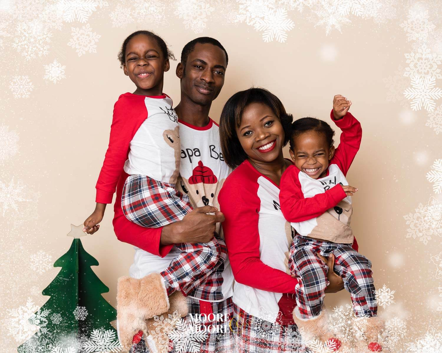 Christmas Photoshoot by Moore & Moore Photography Hampshire