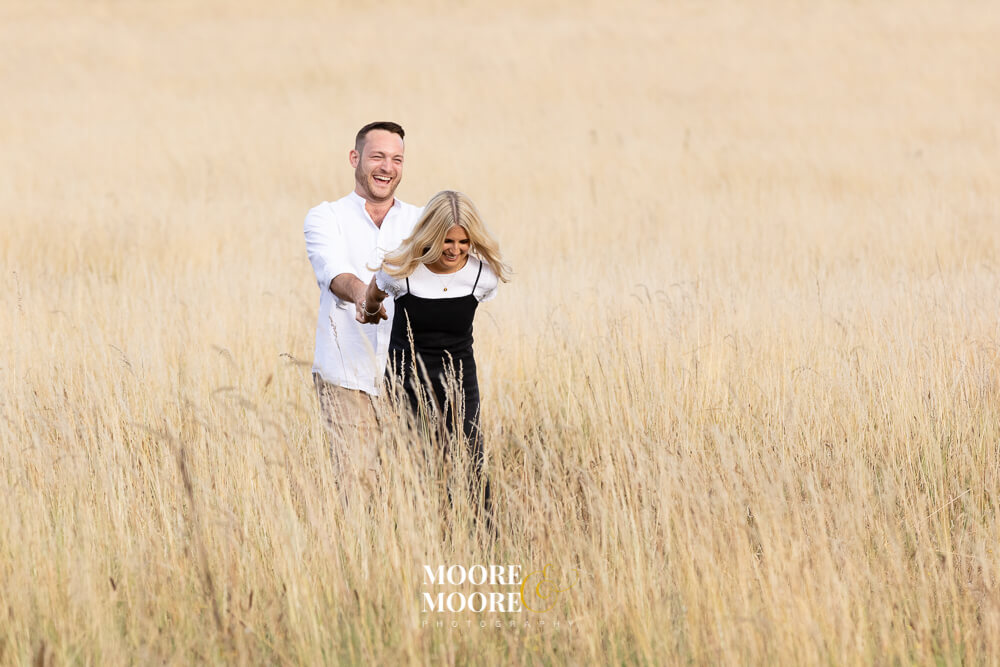 Pre-Wedding Engagement Photoshoot in Fleet Hampshire by Moore & Moore Photography